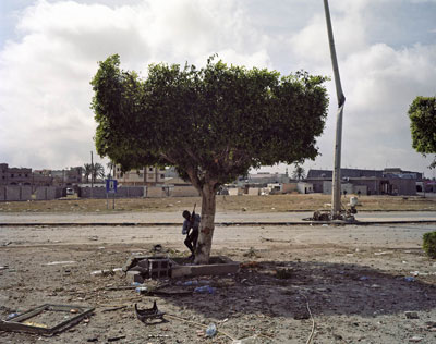Rebel Fighter. Libya, April 2011. (Tim Hetherington/Magnum Photos)
