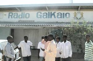 Radio Galkayo was damaged in a grenade attack. (Raxanreeb)