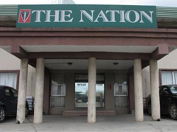 The Nation's office in Lagos. (AP)