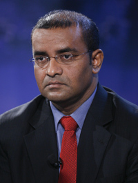 Guyana President Bharrat Jagdeo has suspended a TV station for four months. (Reuters)