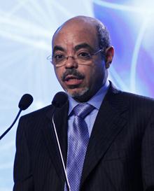 Ethiopia Prime Minister Meles Zenawi (Reuters)