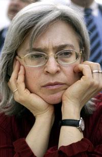 Anna Politkovskaya photographed in 2005 (AFP)