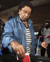 President Ellen Johnson Sirleaf (Reuters)