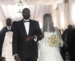 Two journalists were arrested over a story criticizing President Salva Kiir, for allowing his daughter to marry an Ethiopian national. (The New Sudan Vision)