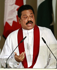 President Rajapaksa's government is imposing new guidelines on the Sri Lankan media. (Reuters)