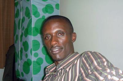 Charles Ingabire. (Ally Mugenzi/BBC)