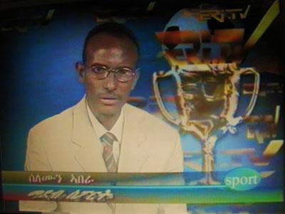 Solomon Abera was once a presenter for state television ERI-TV. (Solomon Abera)
