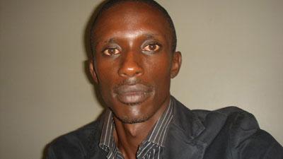 Charles Ingabire was shot dead at 32. (Ally Mugenzi/BBC)