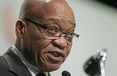 """South Africa's """"secrecy bill"""" has to be signed by President Jacob Zuma before it becomes law. (AP)"""