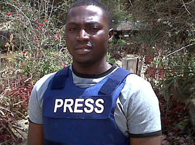 Journalist Enenche Akogwu was shot dead today while interviewing witnesses of a terrorist attack. (Channels TV)
