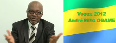 Opposition leader André Mba Obame addressed the nation Sunday via his broadcaster TV+. (CPJ)