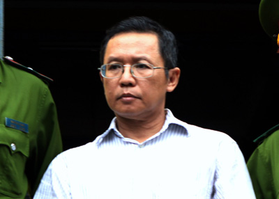 French-Vietnamese blogger Pham Minh Hoang was released from prison on Friday. (AFP)