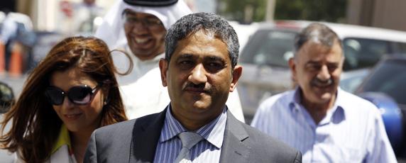 منصور الجمري الحائز على جائزة لجنة حماية الصحفيين. رويترز