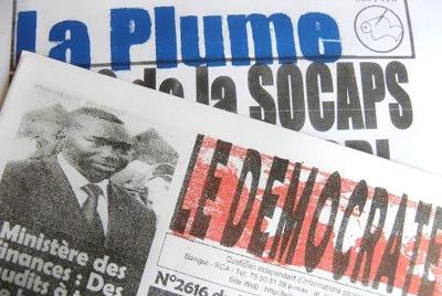 Les rédacteurs de ces deux journaux ont été condamnés sur des accusations qui incluent la diffamation. (Hirondelle)