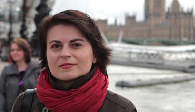 CPJ awardee Natalya Radina.