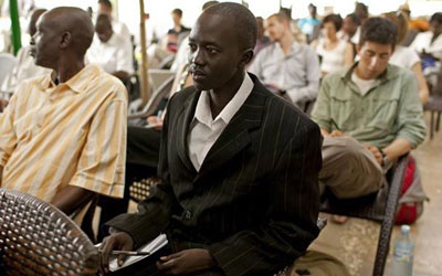 Mading Ngor says his ejection from parliament is receiving unwarranted attention given the number of journalist assaults in South Sudan. (AP)