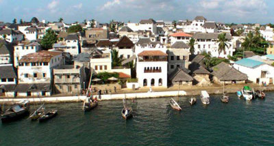Lamu town on Lamu island, which will be home to a major port project. (Lamu Studios)