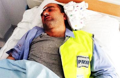 Idrak Abbasov was hospitalized Wednesday. (IRFS)