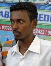 Ahmed Addow Anshur (Yonhap News)