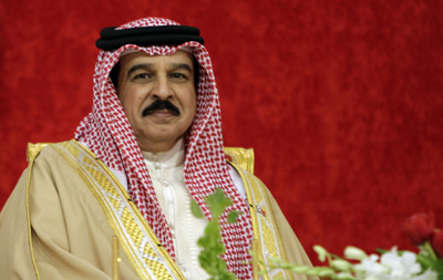King Hamad bin Issa al-Khalifa's government breaks a promise to allow an international mission to assess free expression in Bahrain. (AP/Hasan Jamali)