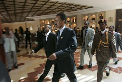 Le président Isaias Afewerki a repoussé des élections et la mise en œuvre d'une constitution depuis 1993. (AFP / Marco Longari)