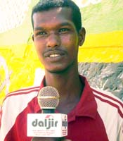 Farhan Jeemis Abdulle was shot dead on Wednesday. (Free Press Unlimited)