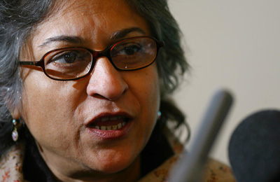 Asma Jahangir has revealed that government agencies have been threatening her. (AFP/Ben Stansall)