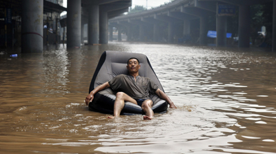 Severe flooding in parts of China has left numerous dead and missing. (Reuters)