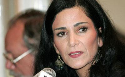 La periodista Lydia cacho, aquí durante una conferencia en 2006, fue amenazada el domingo por un desconocido. (Reuters/Henry Romero)