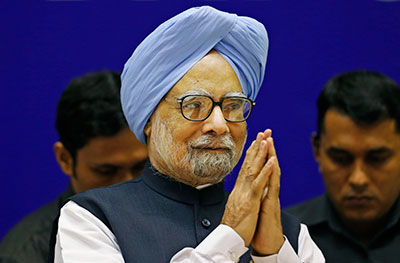 Indian Prime Minister Manmohan Singh turned 80 on Wednesday. (AP/Saurabh Das)