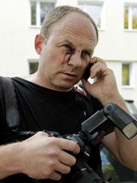 AP photographer Sergei Grits. (AP/Vasily Fedosenko)