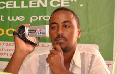 TV journalist Ahmed Farah Ilyas was killed in Somaliland on Tuesday. (Somalilandpress)