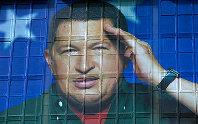 As Venezuela's election nears, President Hugo Chávez has a clear advantage in media access because he has broken down the independent press with threats and regulations while building up a huge state media apparatus. (AP/Ariana Cubillos)