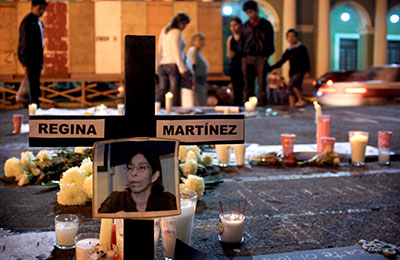 Regina Martínez was killed in one of the most politically corrupt Mexican states. (AP Photo/Felix Marquez)