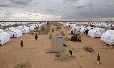 Somali refugees in Kenya are ordered to report to the Dadaab refugee camp, which already holds more than 450,000 people. (Mohamed Abdi)