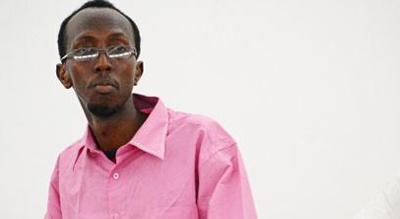 Abdiaziz Abdinuur is sentenced in court. (AFP/Mohamed Abdiwahab)