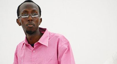 Abdiaziz Abdinuur is sentenced in court. (AFP/Mohamed Abdiwahab)