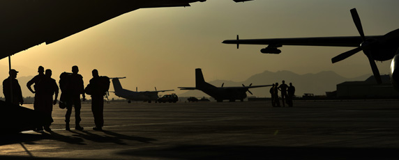 Foreign military presence in Afghanistan has reduced as troops are pulling out of the country. (AFP/Oliver Lang)