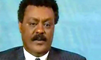 Ali Abdu, Eritrea's longtime information minister, has gone into exile, his brother has confirmed. (YouTube)