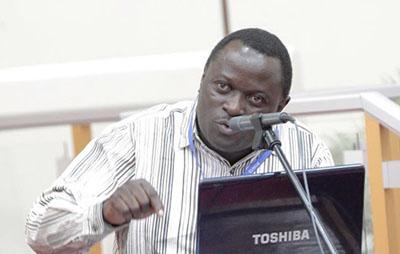 Absalom Kibanda was beaten by three unidentified men on Tuesday. (Absalom Kibanda)