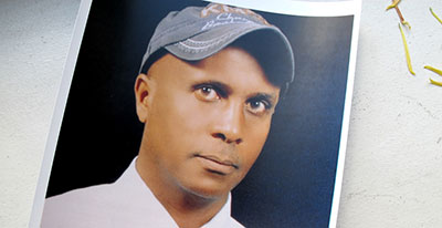 Eskinder Nega is still in jail after refusing to sign a false confession in exchange for freedom. (Eskinder family)