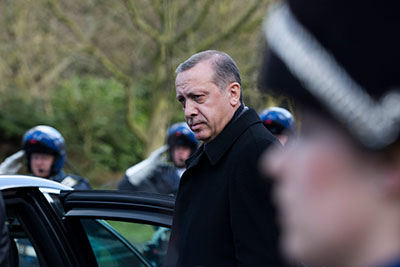 Turkish Prime Minister Recep Tayyip Erdogan is known for his intolerance to criticism. (Reuters/Peter Dejong/Pool)