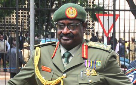 Gen. David Sejusa (Facebook)