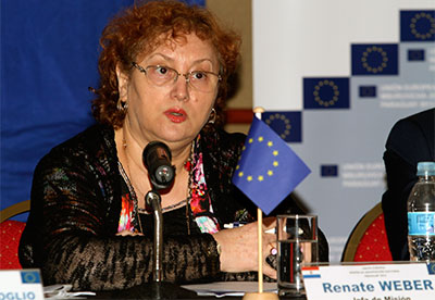 Today's vote in the European Parliament was based on a report by Romanian MEP Renate Weber. (Reuters)