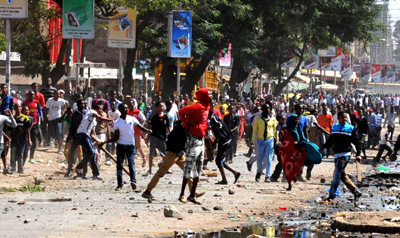 The dangerous neighborhood of Eastleigh is home to some exiled journalists. (AP)