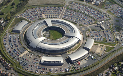 Britain's Government Communications Headquarters, where some digital monitoring takes place. (Reuters)