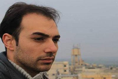 Obaida Batal, correspondent for Orient News, has been taken hostage in Syria. (Orient News)