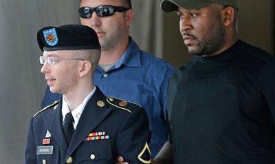 Manning enfrenta la posibilidad de más de 100 años de cárcel (AP/Patrick Semansky)