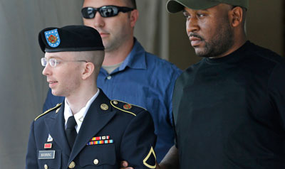 Manning faces more than 100 years in prison (AP/Patrick Semansky)