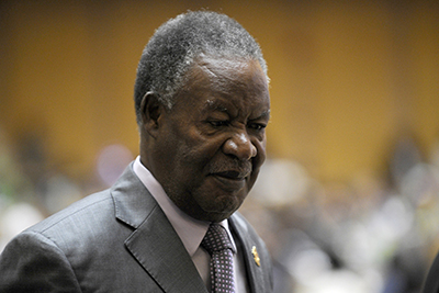 President Michael Sata's mounting attacks on the press have had a chilling effect on freedom of expression in Zambia. (AFP/Simon Maina)